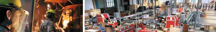 Решения для комнатной вентиляции включая охранную функцию, в зданиях торгового и промышленного назначения